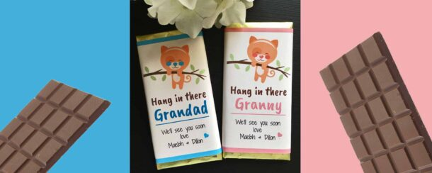 Hang in there COVID19 Chocolate gift Ireland
