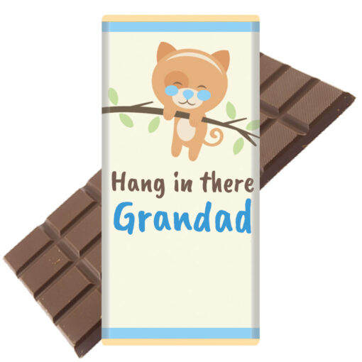 Hang in there Grandad COVID19 Chocolate Bar