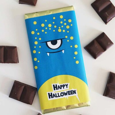 Halloween Chocolate Bar