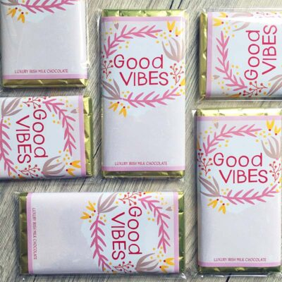 Good Vibes Chocolate Bars