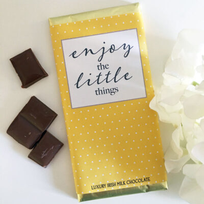 Enjoy the little things Luxury Irish Chocolate