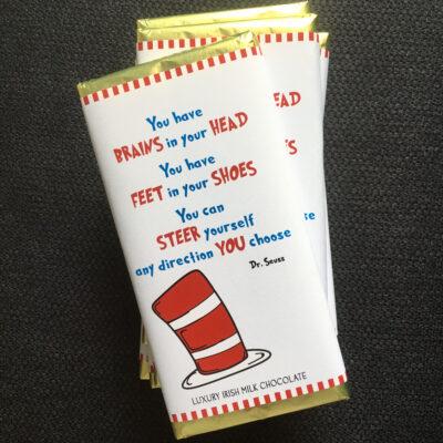 Dr. Seuss Chocolate Bar