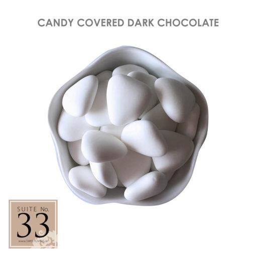 Candy Covered Dark Chocolate