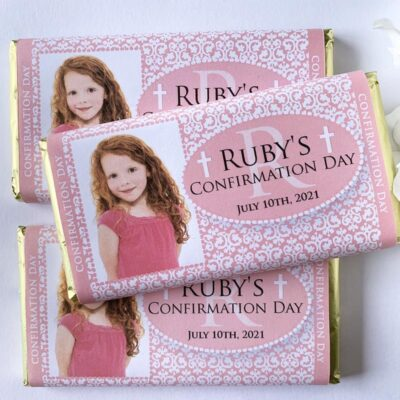 Communion Confirmation Photo Chocolate