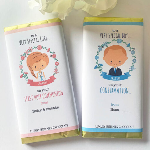 Communion Confirmation chocolate